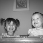 Granddaughters, Isabella and Lucia