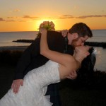 Rachel and her husband Josh, who got married at The Baywood.